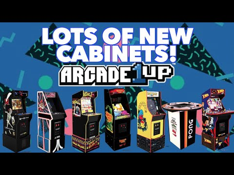 New Arcade1Up Cabinets Revealed! Killer Instinct, X-Men, Dragon's Lair & MORE! from Killer Arcade Games
