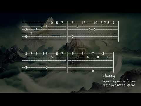 Celtic Music - Medieval Kingdom [Full Acoustic Guitar Tab by Ebunny] Fingerstyle How to Play