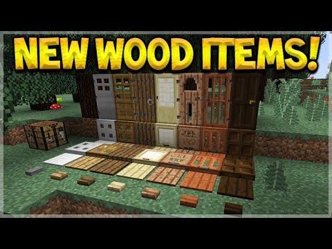 minecraft new wood items new future boss mob. Black Bedroom Furniture Sets. Home Design Ideas