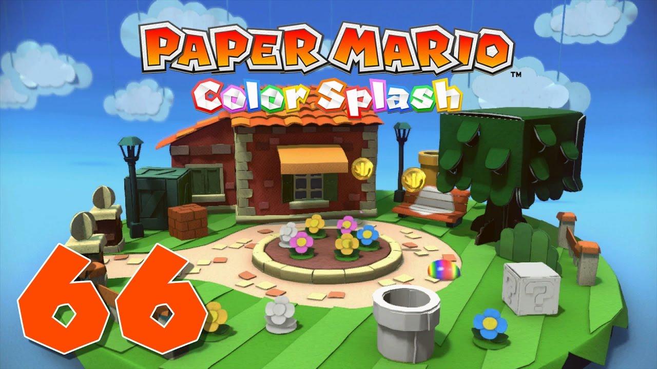 Paper Mario: Color Splash Episode 66: Infiltrating Cobalt Base ...