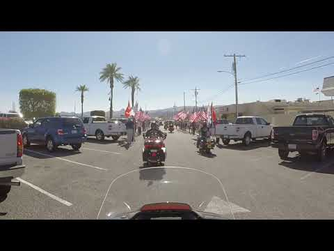Pulling into the VFW Post 9401