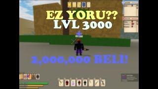 EZ YORU!?! / YORU SHOWCASE | Ro-Piece | Roblox |