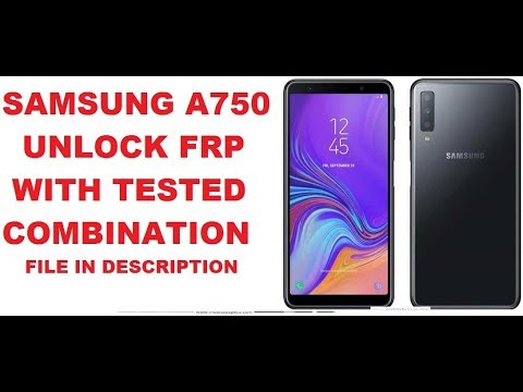 Samsung A750f FRP Unlock 100% Secsecc Updeted Secutity 2019