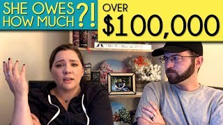 Wife owed OVER $100,000?! | Debt Story