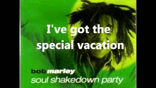 Bob Marley Soul Shakedown Party Lyrics on Screen