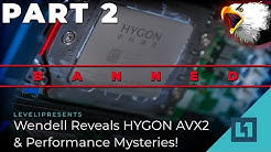 Wendell Reveals HYGON AVX2 & Performance Mysteries! (Poking At Chinese Servers Pt. 2)