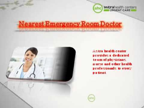 Best urgent care services At Astra