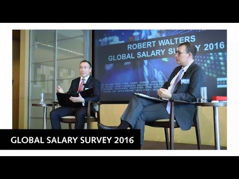 Robert Walters Japan Salary Survey launch 2016