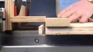 Pattern Cutting For Table Saw