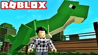 I OPEN MY JURASSIC WORLD PARK. Roblox