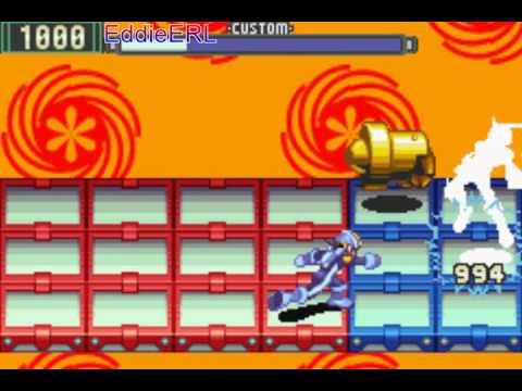 TAP (GBA) Megaman Battle Network 2 - Hard Mode (No Damage) Bonus 5/5 [Final]
