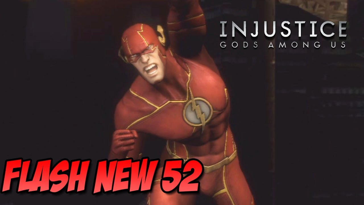 Injustice Gods Among Us - Roupa Secreta Flash New 52 - YouTube
