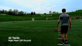 Jack Lucci Football Place Kicker Recruit Video