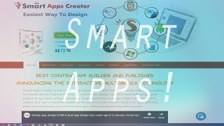 How To Make A Working App In 10 Minutes! – best app maker - Smart Apps Creator 3