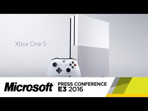 Xbox One S Official Reveal Trailer