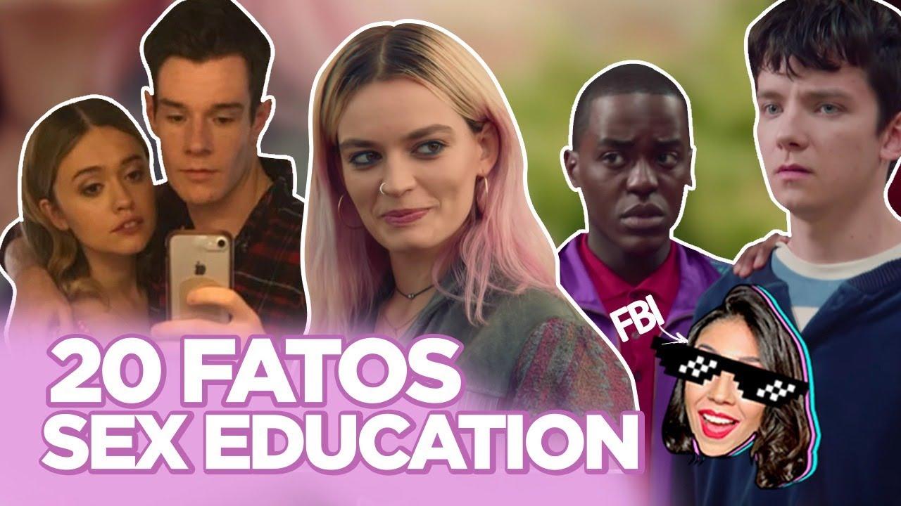 SEX EDUCATION: CASAL REAL, BASTIDORES DAS CENAS QUENTES, CROSS COM RIVERDALE? | Foquinha FBI