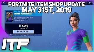 Fortnite Item Shop SOCCER SKINS ARE BACK! [May 31st, 2019] (Fortnite Battle Royale)