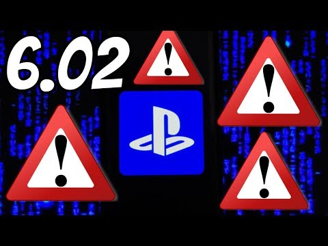 PS4 6.02 UPDATE System Software WARNING