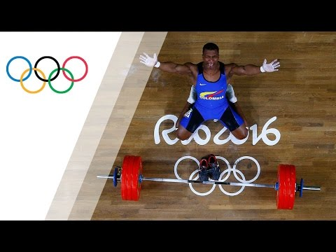 Gold for retiring 62kg Colombian weightlifter