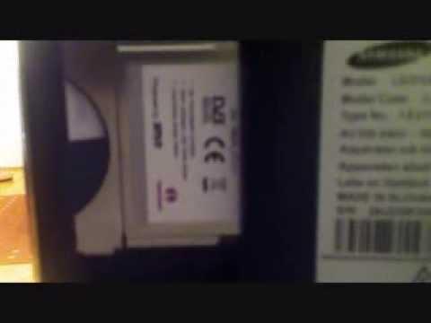Karte In Ci Modul Einstecken.Samsung Serie 6 Tv Ci Plus Modul Probleme Beheben Karte Richtig Einlegen