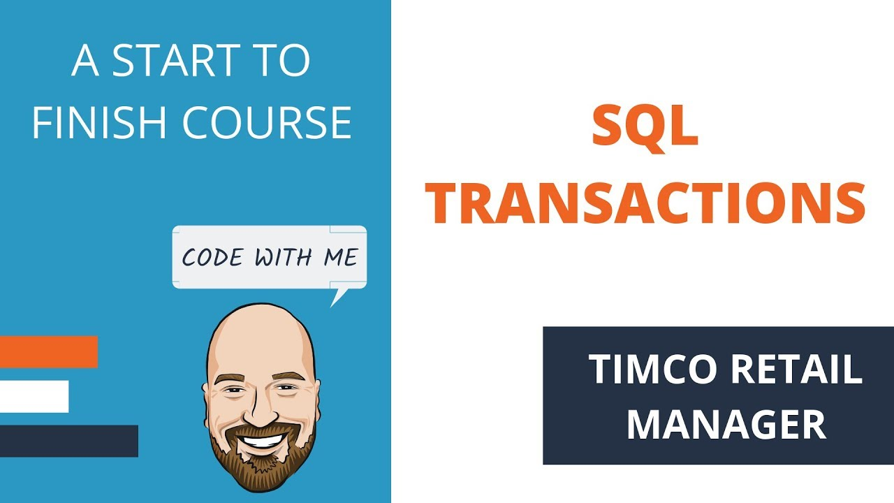 SQL Transactions in C# using Dapper - A TimCo Retail Manager Video