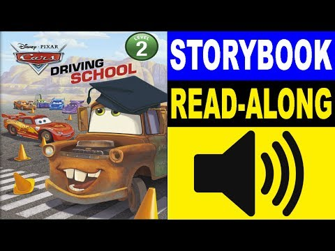 Cars Read Along Story Book | Cars - Driving School | Read Aloud Story Books For Kids
