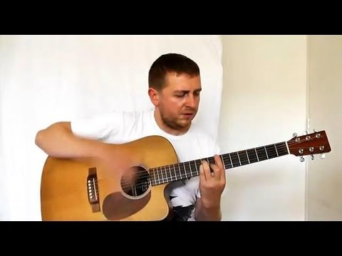 Locked Out Of Heaven - Guitar Tutorial - Full Version - Bruno Mars - Barre Chord Work Out