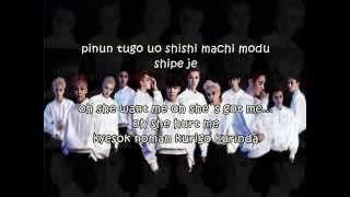 Overdose - Exo Easy Lyrics