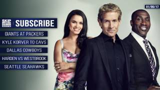 UNDISPUTED Audio Podcast (1.6.17) with Skip Bayless, Shannon Sharpe, Joy Taylor | UNDISPUTED