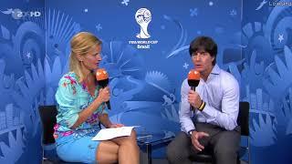 Joachim Löw - post-match interview - Brasilien vs Deutschland (WM 2014)