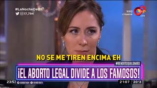 ¡El aborto legal divide a los famosos!