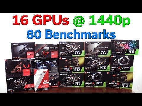 16 Graphics Cards Compared @ 1440p — $100 To $1,100 — Which Should You Buy?