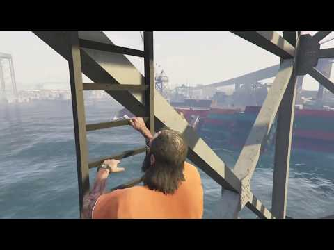 GTA V -  free roam CEO Trevor roleplay - I love ports