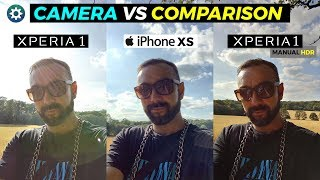 Sony Xperia 1 vs iPhone XS Max Camera | With a Difference 😵