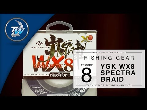 YGK BRAID WX8 - Spectra Braided Fishing Line