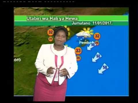 Tanzania Weather Forecast 10/01/2017