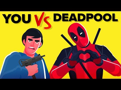 YOU vs DEADPOOL -  How Can You Defeat and Survive Him (Disney Marvel Comics Deadpool Movie)
