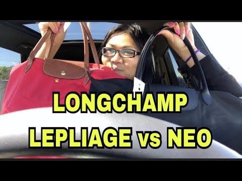 I CAN'T DECIDE LONGCHAMP NEO OR LE PLIAGE