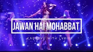 Mohabbat Karaoke With Lyrics | FANNEY KHAN | Aishwarya Rai Bachchan | Sunidhi Chauhan |