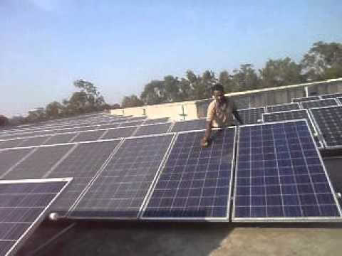 Roof top on grid solar by shantee power corp