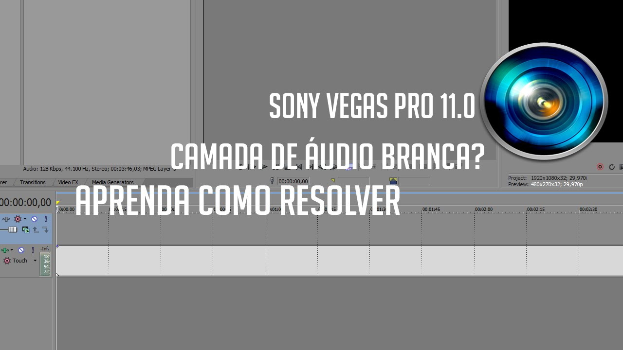 how to make a audio track in sony vegas mono