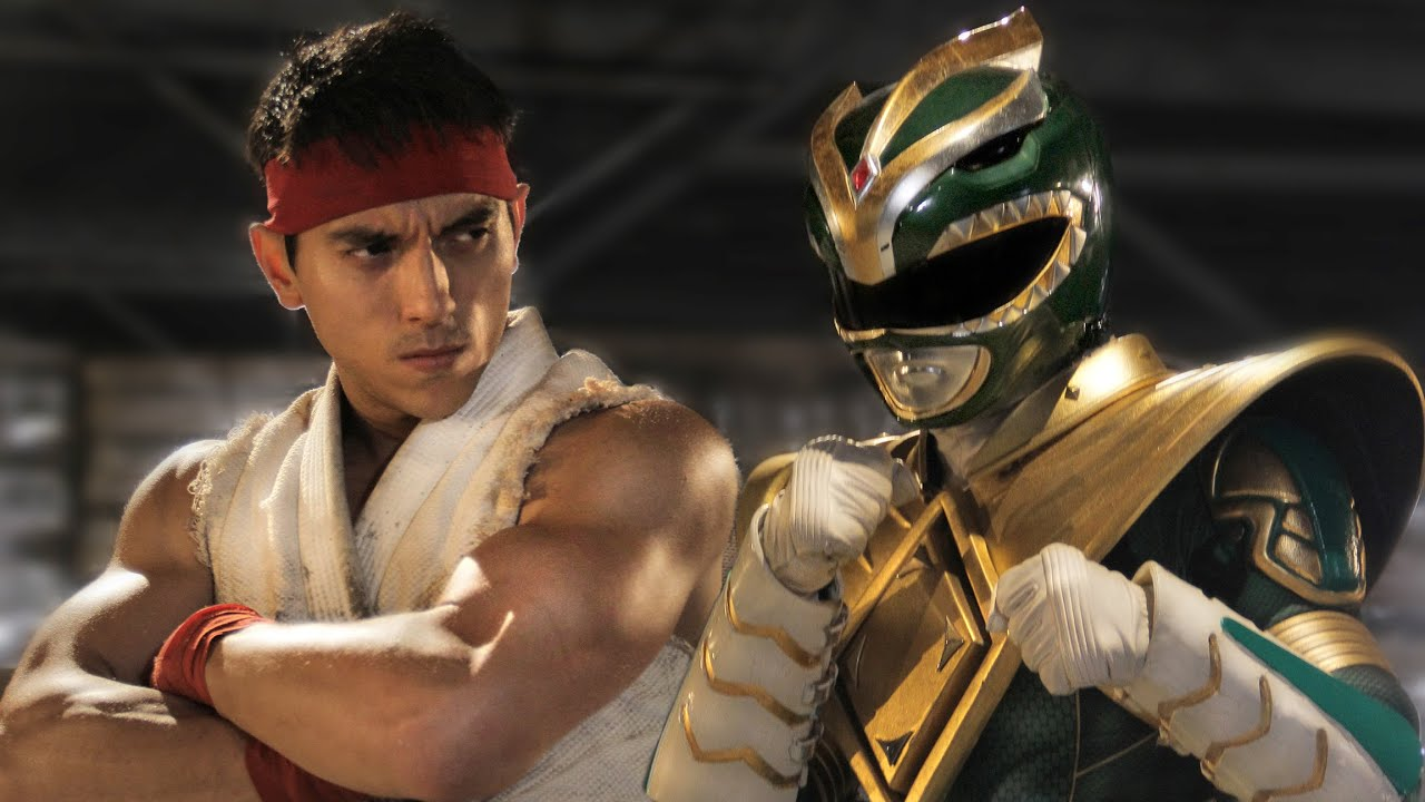 Green Ranger vs. Ryu!