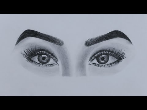 How To Draw Realistic Eyes For Beginners - Step By Step