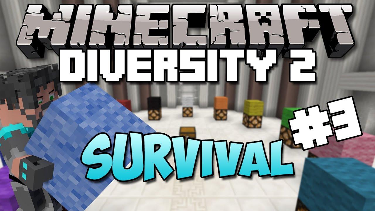 Minecraft Diversity 2 Ep 3 A Blaze Spawner