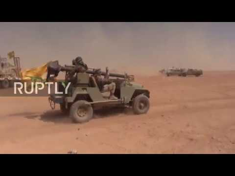 Syria: SAA continues to regain territory from IS along Iraqi border
