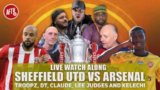 Sheffield Utd vs Arsenal | Watch Along
