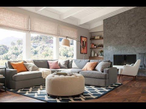 Сочетание бежевого с серым в интерьере | The combination of beige with gray interior