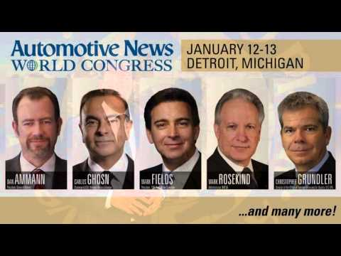 Automotive News 2016 World Congress