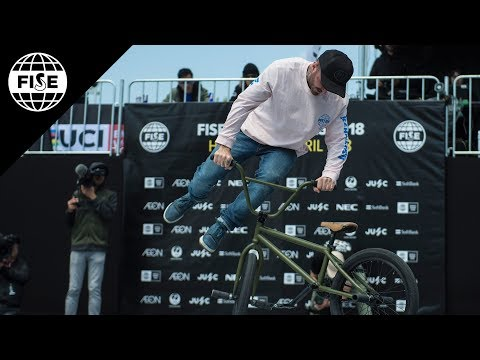 Alex Jumelin | 3rd Final UCI BMX Flatland Worldcup -  FISE Hiroshima 2018