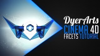 How to make Facets in C4D & Photoshop! Tutorial Tuesdays #1
